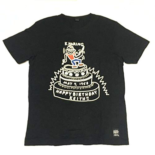 Uniqlo x Happy Birthday Keith Haring American Pop Art T-Shirt Size M