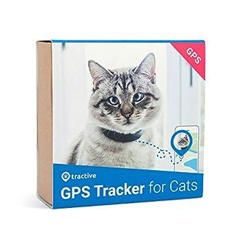 Tractive collier GPS pour chat, Portée illimitée, Étanche, Suivi d'activité