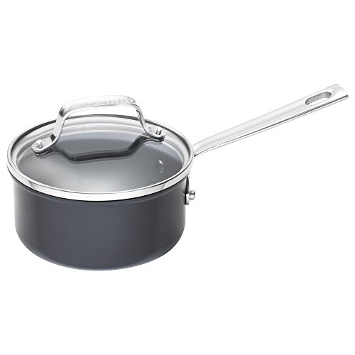 Emeril Lagasse 12 Piece Nonstick Cookware Set, Hard Anodized, Dishwasher safe, Gray