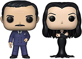 Funko Pop! TV: The Addams Family - Gómez y Morticia - Set de 2 - en bolsas de burbujas
