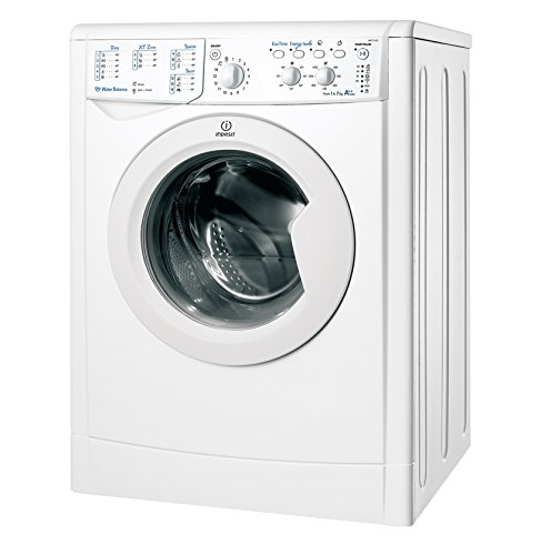 Indesit IWC 71252 C ECO EU - Lavadora (Independiente, Color blanco, Frente, 7 kg, 1200 RPM, B)