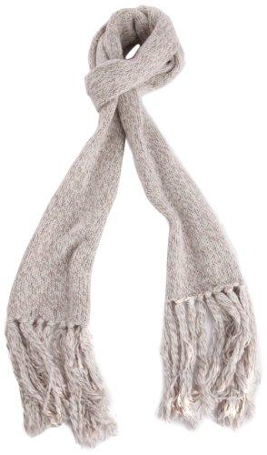 Bench Damen Mütze, Schal & Handschuh-Set Schal Lolarose beige (rainbow twist (CR043X)) One Size