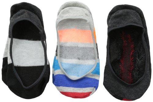 Jefferies Socks Socken für Jungen, gestreift, 3 Stück - mehrfarbig - Mittel
