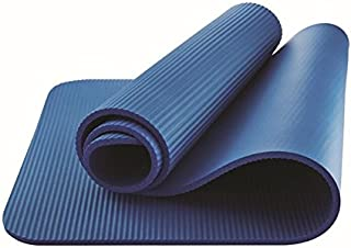 athletic works fitness mat blue 10mm