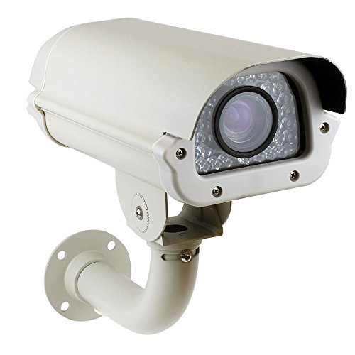 GW Security 2MP HDCVI/TVI/AHD/960H 4-in-1 Outdoor Day/Night HD 1080P License Plate Camera with 5~50mm ...