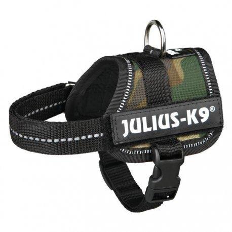 Julius Geschirr K9Klettsticker Power Baby 1/XS: 30? 40cm camouflage für Hunde
