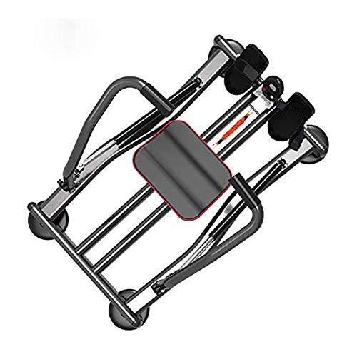 WJFXJQ Ultra Silenzioso Idraulico Fitness a Canottaggio Pieghevole Home Rower Trainer con Resistenza Magnetica su 4 Livelli
