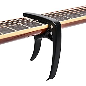 Kapodaster für Westerngitarren gewölbt blau E-Gitarren