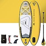 Kayaks y piraguas de mar Canoas Hinchables Tabla De Paddle para Niños, Tabla De Surf Inflable para Principiantes, Bote De Goma Espesa para Piscina Familiar (Color : Yellow, Size : 8ft)