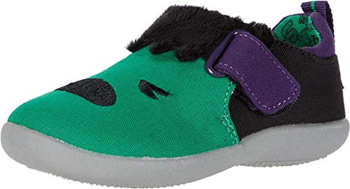 TOMS - Winziger Whiley Sneaker, 21 EU, Green Marvel Hulk Embroidery