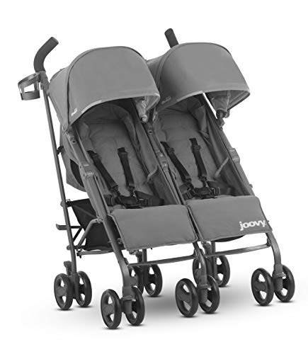 JOOVY Twin Groove Ultralight Umbrella Pushchair, Charcoal