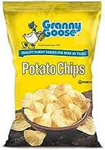 (Pack of 24) Granny Goose Potato Chips Plain, 5oz