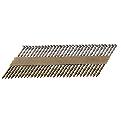 """Metabo HPT 15209HPT 3"""" x .131 Paper Smooth Shank Bright Framing Nails 