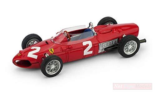Brumm BM0639 Ferrari 156 F1 P.Hill 1961 N.2 Italy GP 1:43 DIE CAST Model kompatibel mit