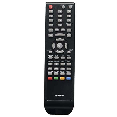 EN-83804S EN83804S Replace Remote Control fit for Sharp Smart TV HDTV 4K Ultra HD LC-32Q3170U LC-32Q3100U LC-32Q3180U LC-40P3000U LC-40Q3000U LC-40Q307U LC-43Q3000U LC-65Q6020U 30Q3000U 39Q3000U