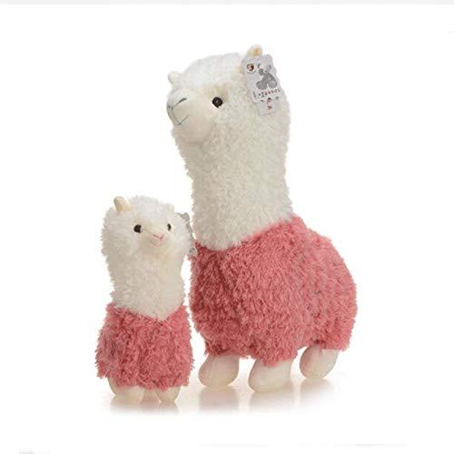 Gwgbxx Juguetes De Peluche Muñeca Linda De Alpaca Almohadas Decoraciones del Hogar del Regalo De Cumpleaños For Los Niños (Color : Green, Size : 35cm)