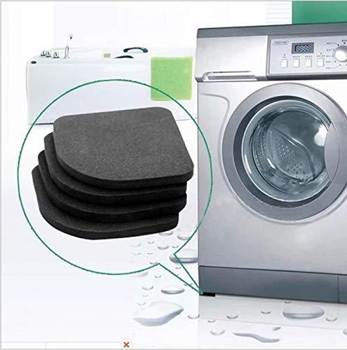 ADSIKOOJF 1Set Multifunctionele Koelkast Anti-vibratie Pad Mat Voor Wasmachine Schokdempers Antislip Matten Set Badkamer Accessoires