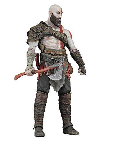 NECA- Figura Articulada God of War Kratos, Multicolor (NECA49323)