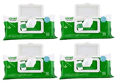 Clinell Universal Wipes - Clip Pack of 50 (3 Pack of 50 Wipes) from Clinell