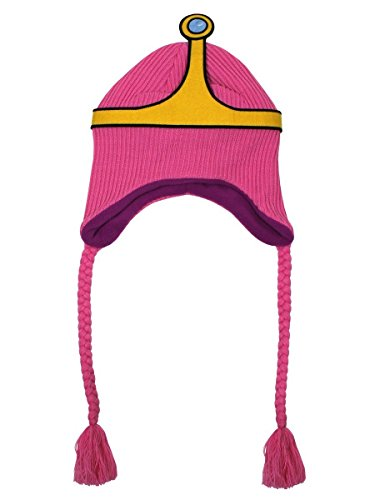 Adventure Time Meroncourt Unisexe Princesse Bubblegum Laplander Bonnet, Rose, Taille Unique