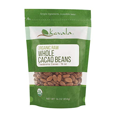 Kevala Organic Raw Cacao Beans 1Lb