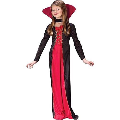 Fun World FBA_FW9732MD Victorian Vampiress Kids Medium Costume