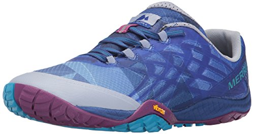 Merrell Women's Glove 4 Trail Runner,Aleutian,5 M US