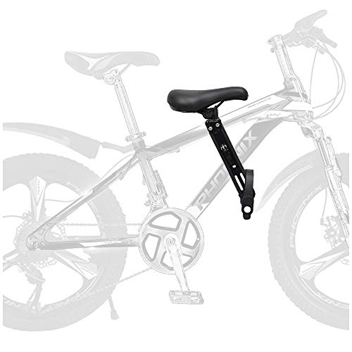 XIAOHE Kids Bike Seat for Mountain Bikes Outdoor travel portable Child bicycle seat The front mounted child bike seat is easy to disassemble and install suitable for children from 2 to 5 years old