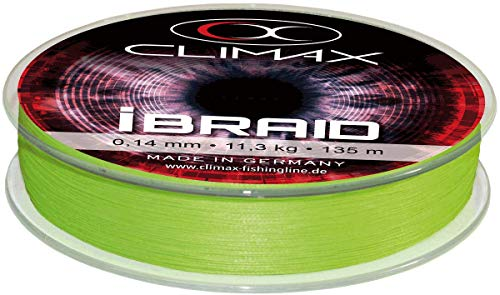 Climax IBraid Chartreuse 135 M; 0,08 Mm