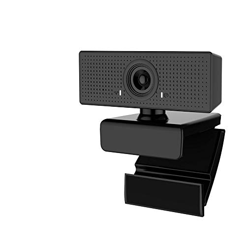 USB Webcam 1080P High-Definition Lens, 110° Viewing Angle Camera, Drive-Free Computer Camera, Live Online Lessons, Webcam with Microphone