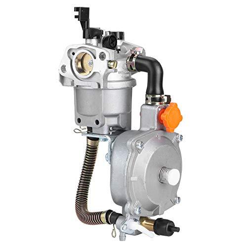 Atyhao Generador de carburador de Combustible Dual LPG CNG Kit de conversión para 2.8KW GX200 170F Choking Coil Manual Choke