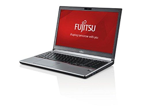 Fujitsu LIFEBOOK E756, 15,6Zoll, i5 6300U, 8GB RAM, 256GB SSD, DVD, kein Betriebssystem, silbergrau/schwarz, weiße Tastatur