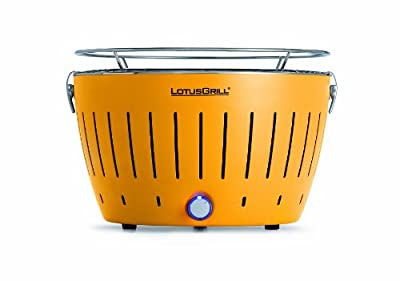 Grill Time Trailbreaker GT Smokeless Charcoal Grill - Yellow