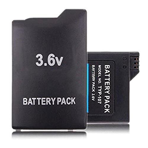 Pacco di batterie di ricambio per PSP 3000, PSP 2000, slim e lite