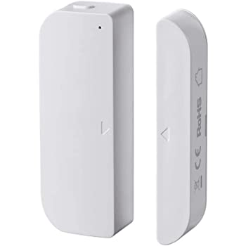 Monoprice 124259 Z-Wave Plus Door and Window Sensor - White   Works With SmartThings, RBoy Apps Compatibility, No Logo