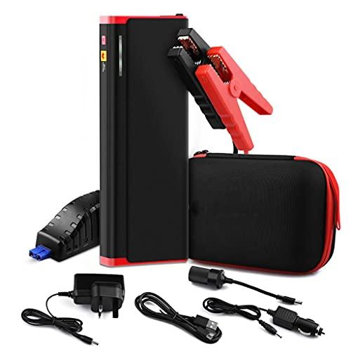 LUGEUK Batería de automóvil Starter Power Power Bank Dispositivo de Arranque 2000A Starter Starter 12V Vehículo Buster Booster Auto Emergencia Inicio Batería (Color : US Standard Plug)