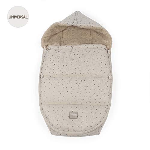Walking Mum 36135 - Unisex - Baby Schlafsack Gruppe 0 Dreamer Biege (DM)