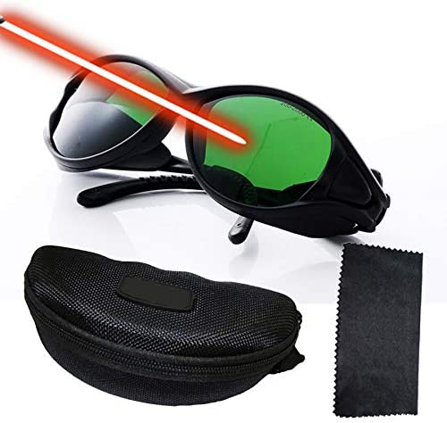Professional Laser Safety Glasses for 405nm 445nm 450nm 532nm 850nm Laser and 190nm 490nm Wavelength product image