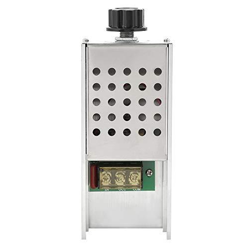 Controlador de velocidad BTA41600B, interruptor de velocidad eléctrico, regulador de voltaje de regulador de velocidad AC220V, para carga resistiva