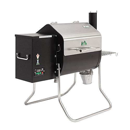 Product Image 8: PERFECT LIGHTWEIGHT PORTABLE GRILL SMOKER COMBO – Green Mountain Davy Crockett Sense Mate