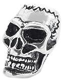 Windalf Frankenstein Haar& Bartperle Skull 20 mm Calavera Ba
