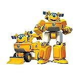 WZLDP Súper ala Donnie la deformación del vehículo Robot Set-Duo Deformación de Coches de Juguete de la Herramienta, Donnie Plano y Establecida del vehículo BOT