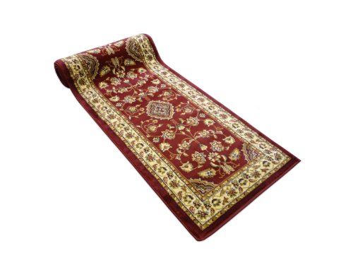 Rugs With Flair Sincerity Sherborne Red 60x230 Runner