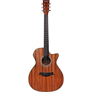 Standzo Yamaha F280 Acoustic Guitar, Natural with Padded Carry Bag 3
