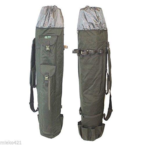 Generic Parapluie de Bivouac de pêche à la Carpe Pike Pod 4 Canne à pêche Quiver Slider Sac fourre-Tout X 1 < 1 & 2879 * 1 >