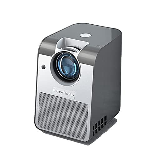 KANGLE-DERI Mini Proyector para El Hogar 4K Ultra HD Smart Home Theatre Portátil para Ver Películas Proyección De Pared 1080P Teléfono Móvil Todo En Uno Dormitorio para Exteriores Proyector De TV