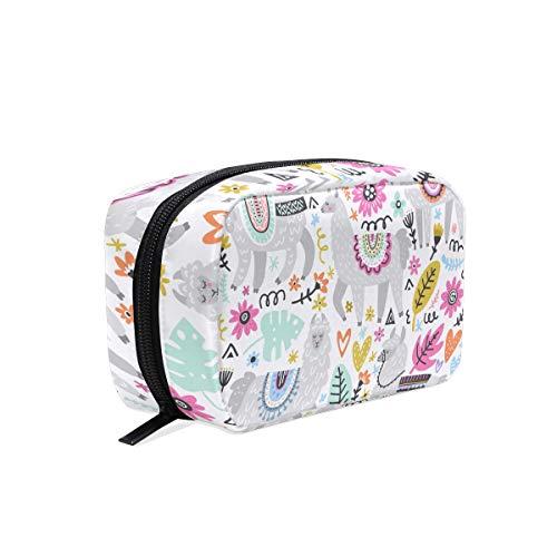 Llama Travel Makeup Case Toiletries Bag Portable Beauty Women Cosmetic Organizer Bags Storage Bags for Travel