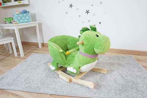 Knorrtoys 40481 – Schaukeltier Dino Olaf mit Sound - 13