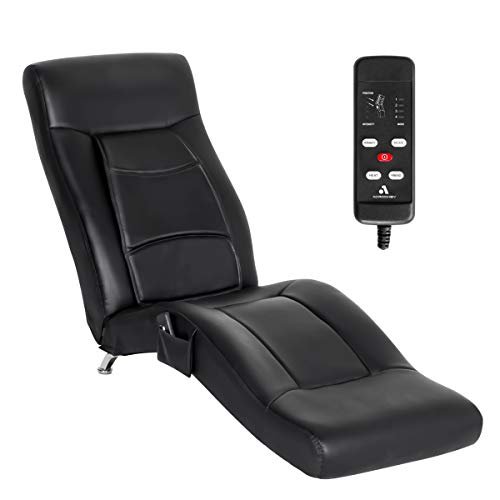 YOLENY Electric Massage Recliner Chair Chaise Longue Artificial Leather Ergonomic Lounge Massage Recliner,Massage Chair with Kneading,Hammer,Vibrating Massage,Heating,Remote Control,Side Pocket