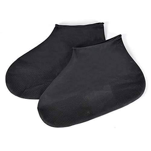 Gather together L 3 - Cubiertas de silicona reutilizables para botas de lluvia para hombres y mujeres al aire libre antideslizante de goma botas de lluvia